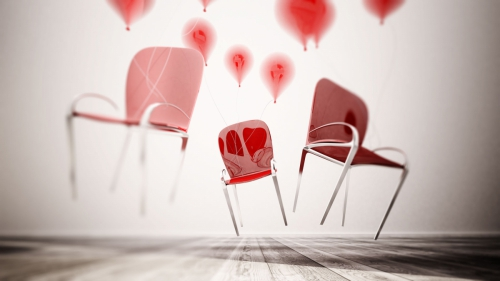 sedia rossa hd2